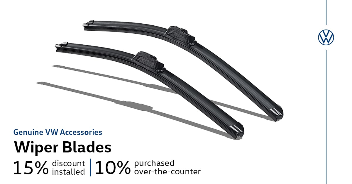 Volkswagen Wiper Blades Accessory Special Coupon
