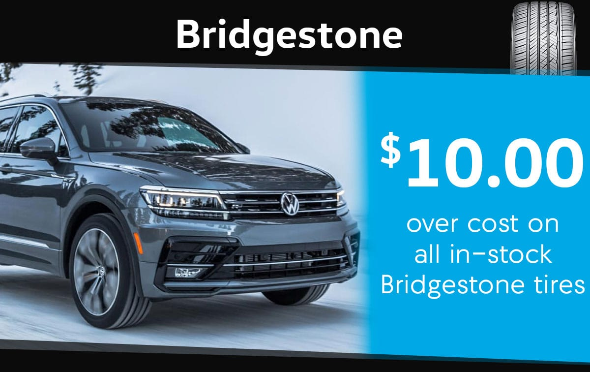 Bridgestone Tire Special Coupon