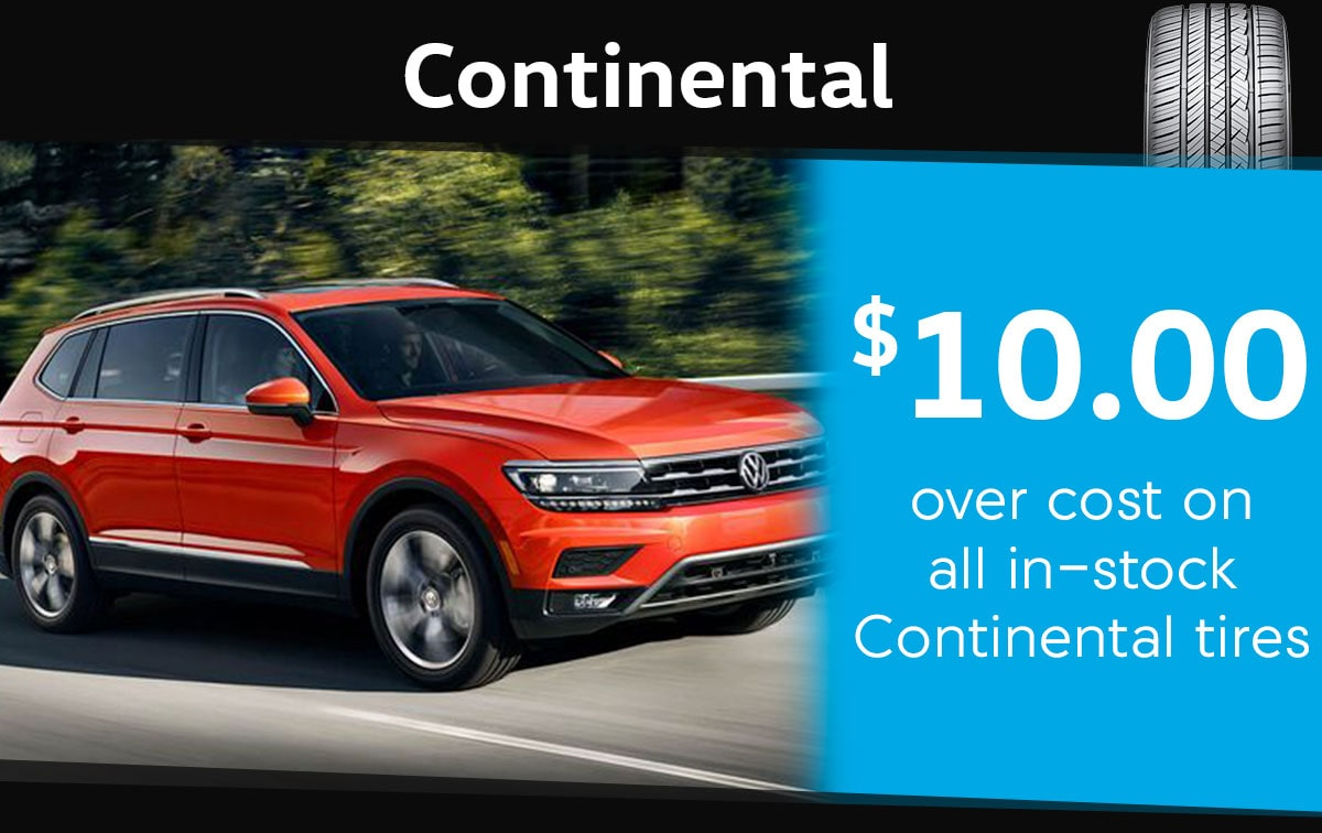 Continental Tire Special Coupon