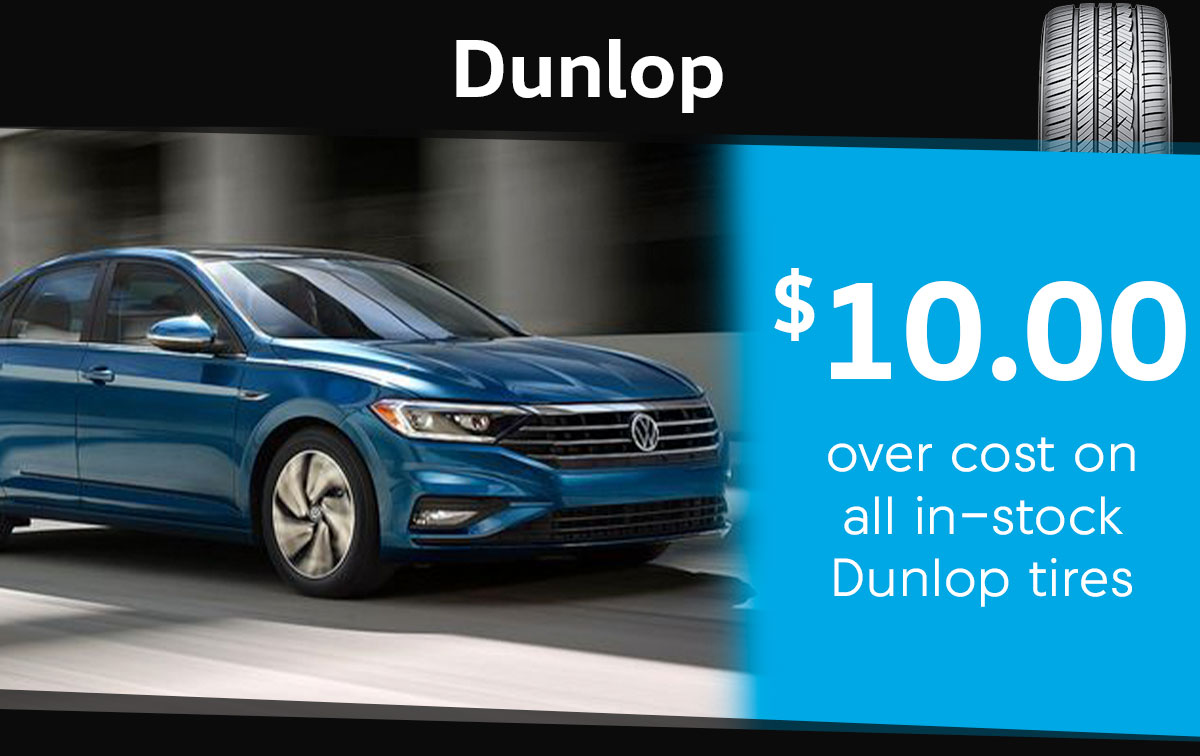 Dunlop Tire Special Coupon