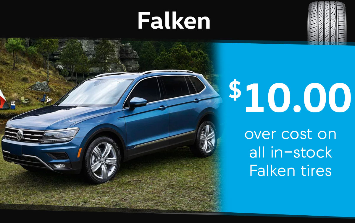 Falken Tire Special Coupon