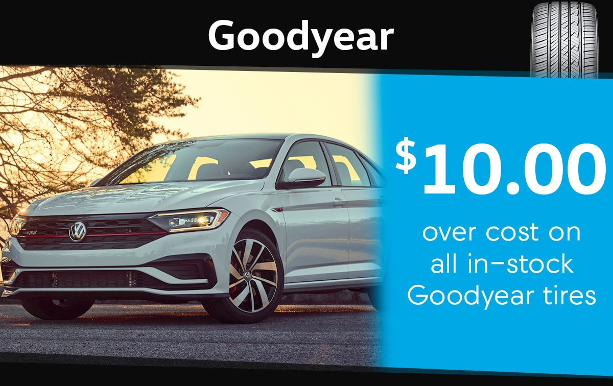 Goodyear Tire Special Coupon