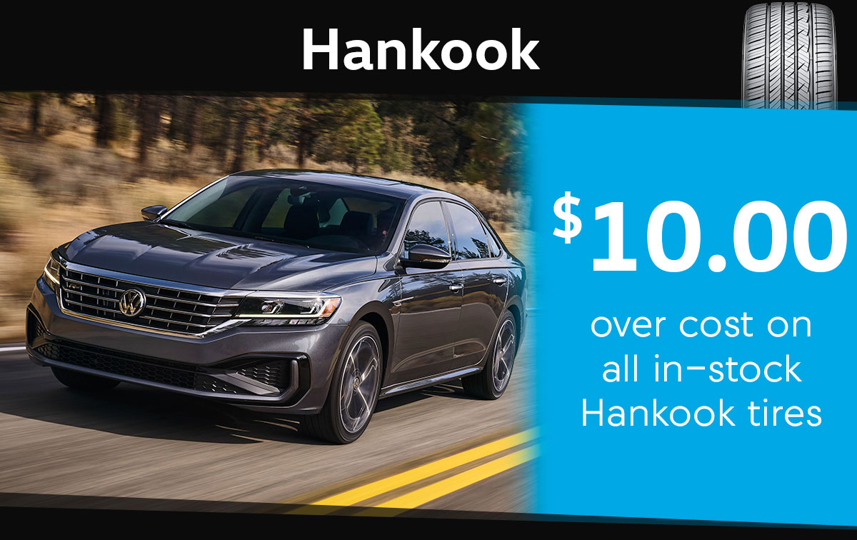 Hankook Tire Special Coupon