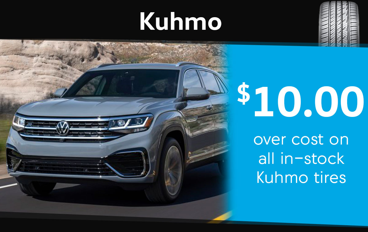 Kuhmo Tire Special Coupon