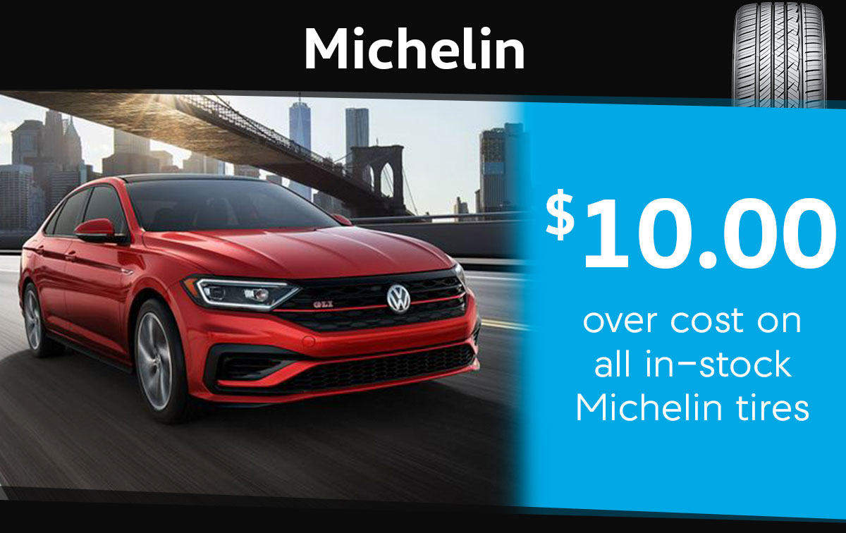 Michelin Tire Special Coupon