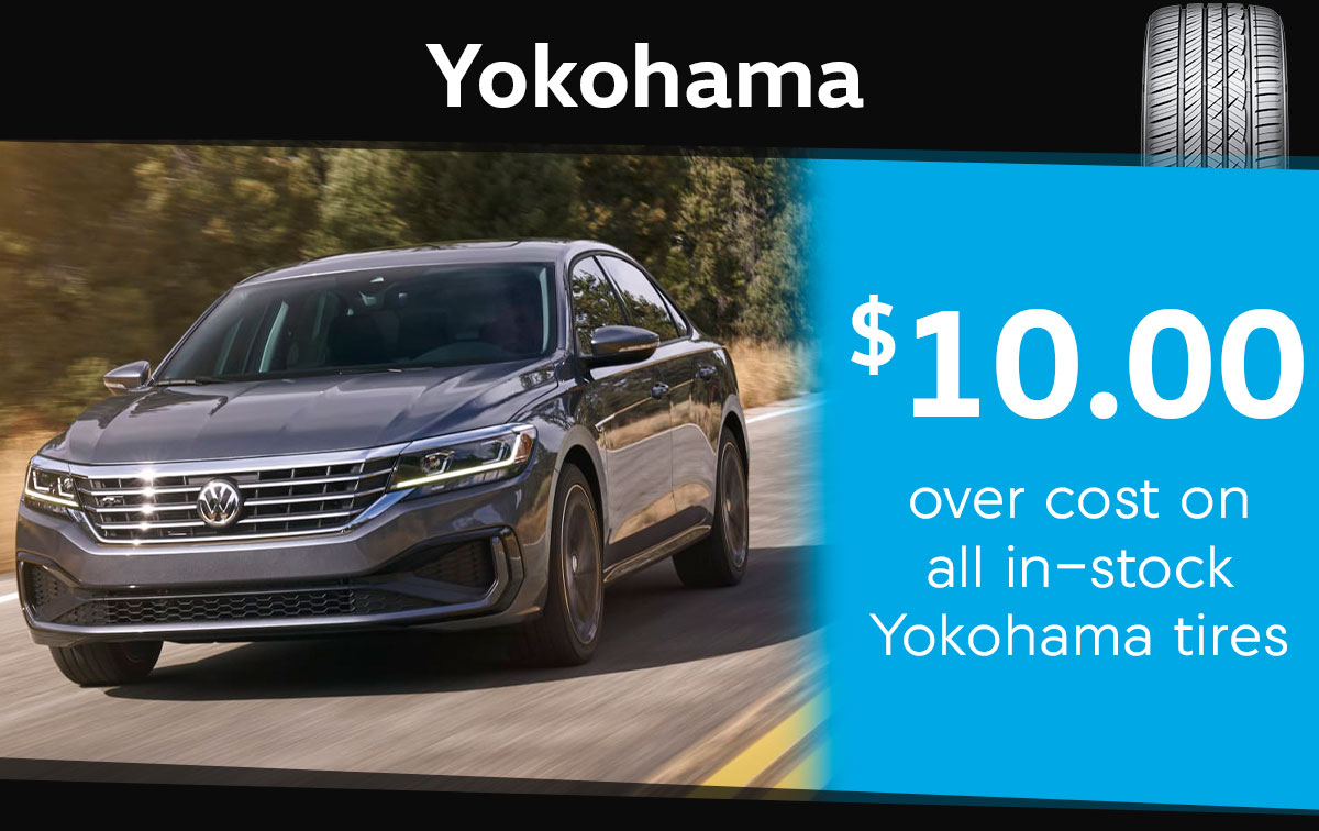 Yokohama Tire Special Coupon