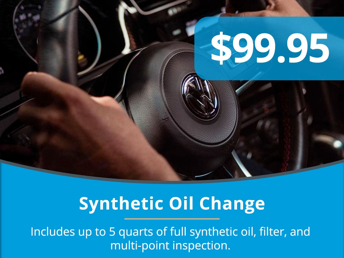 Synthetic Oil Change Special Coupon Tom Wood Volkswagen