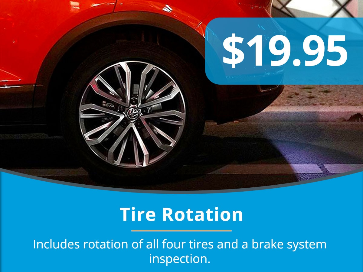 Tire Rotation Special Coupon Tom Wood Volkswagen