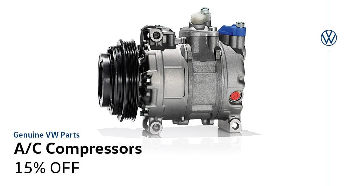 Volkswagen A/C Compressors Service Special Coupon