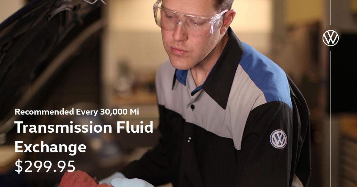 Volkswagen Transmission Fluid Exchange Service Special Coupon