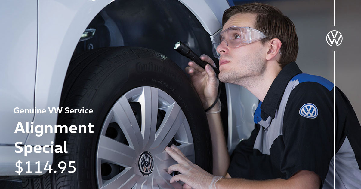 Volkswagen Alignment Special Coupon