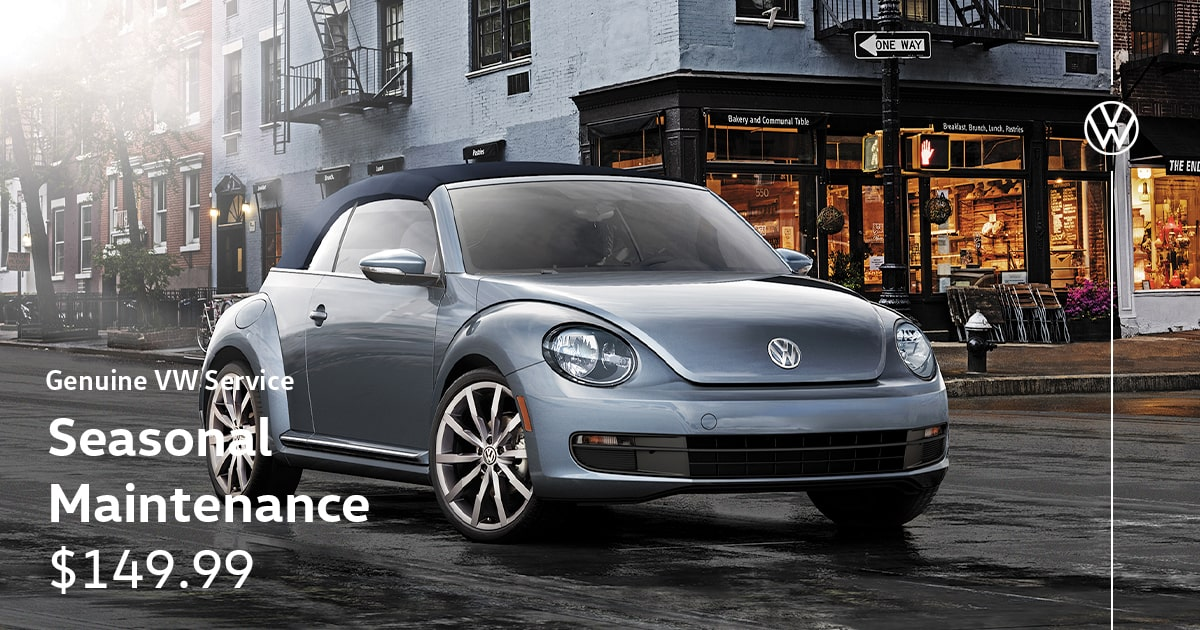 Volkswagen Seasonal Maintenance Service Special Coupon