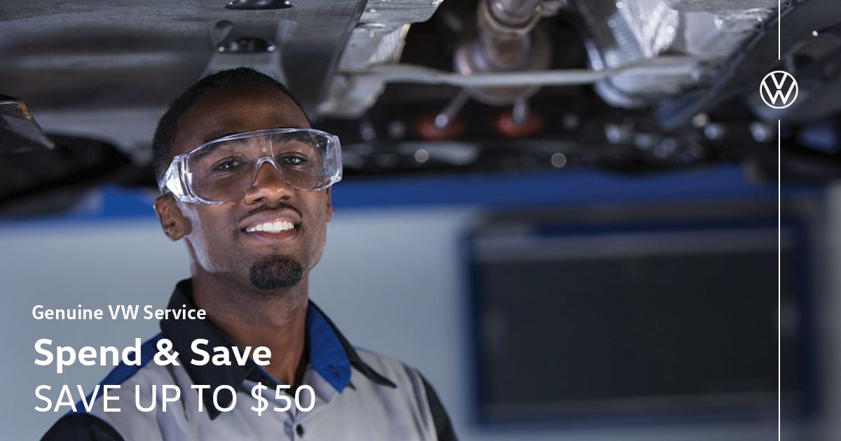 Volkswagen Spend & Save Service Special Coupon
