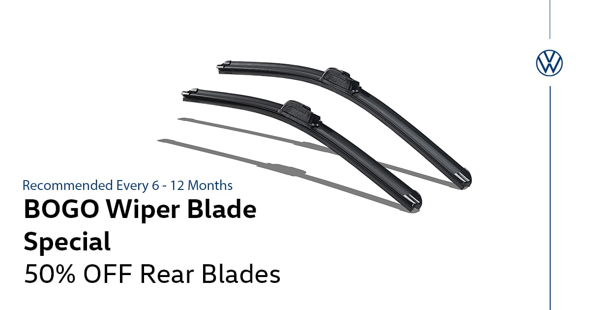 Volkswagen Wiper Blade Special Coupon