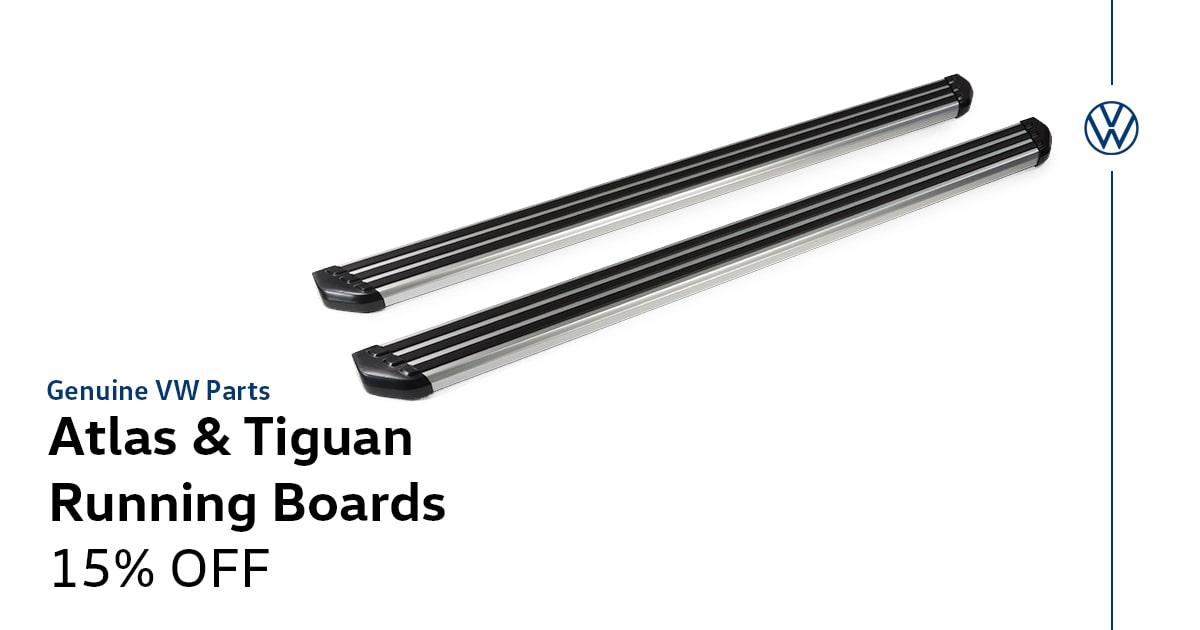 Volkswagen Atlas & Tiguan Running Boards Special Coupon