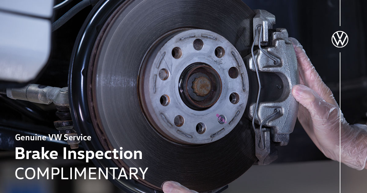 Volkswagen Brake Inspection Service Special Coupon