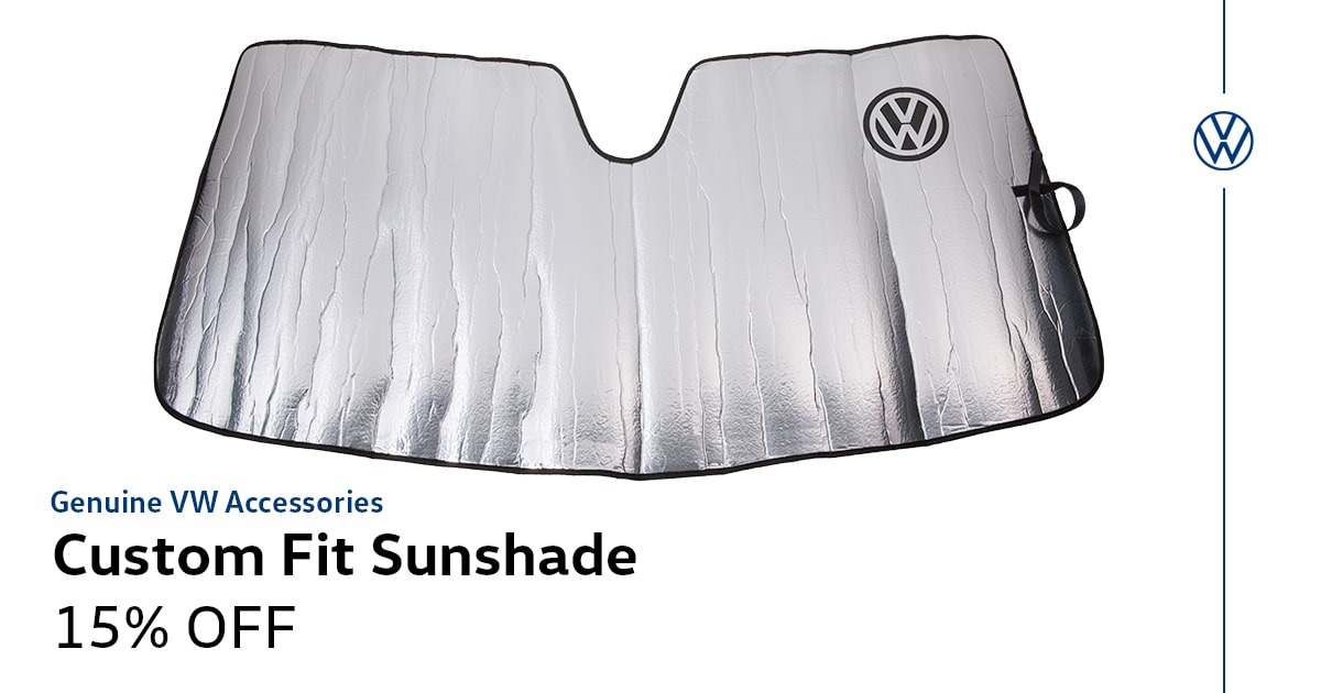Volkswagen Custom Fit Sunshade Service Special Coupon