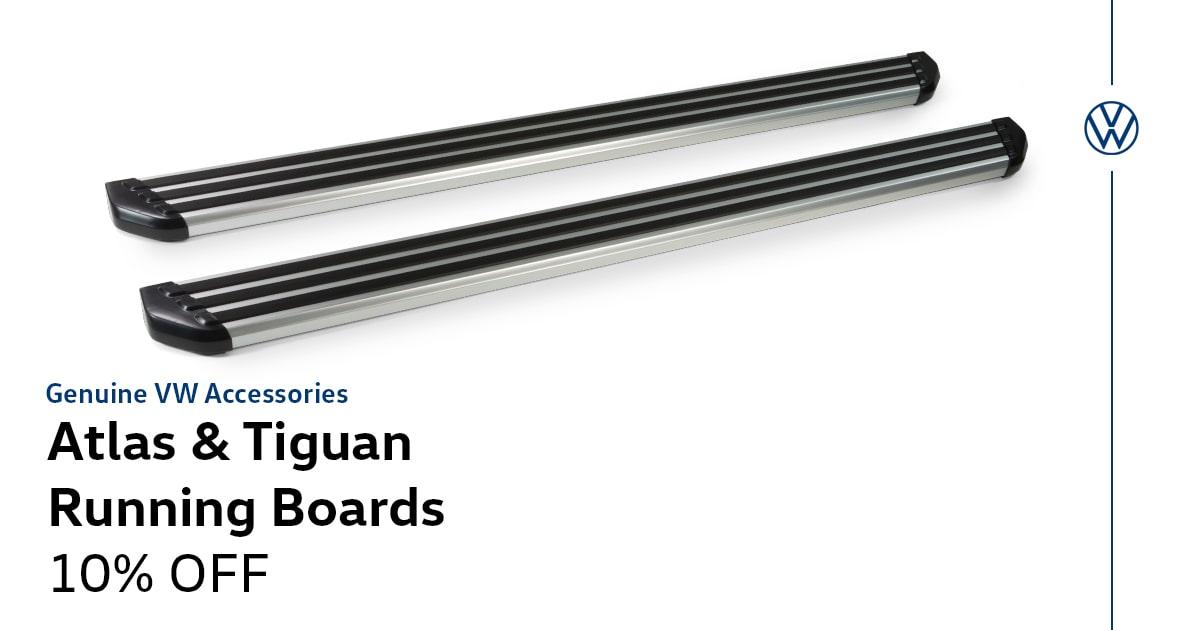 Volkswagen Atlas & Tiguan Running Boards Service Special Coupon