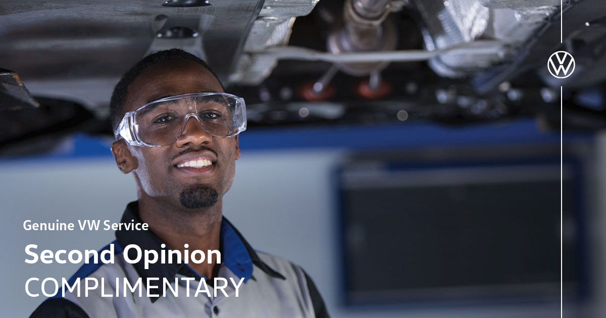 Volkswagen Complimentary Second Opinion Service Special Coupon