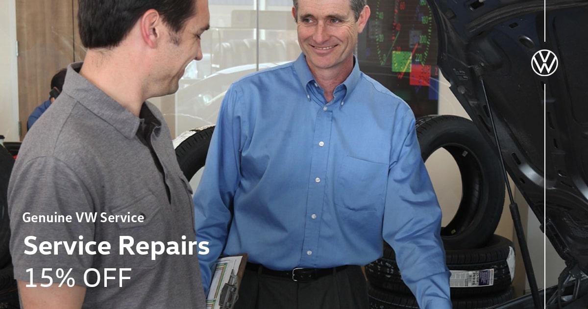 Volkswagen Repairs Service Special Coupon