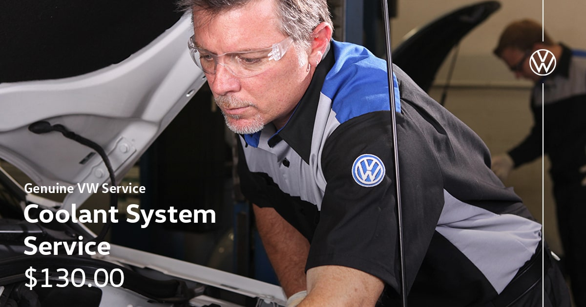 Volkswagen Coolant System Service Special Coupon