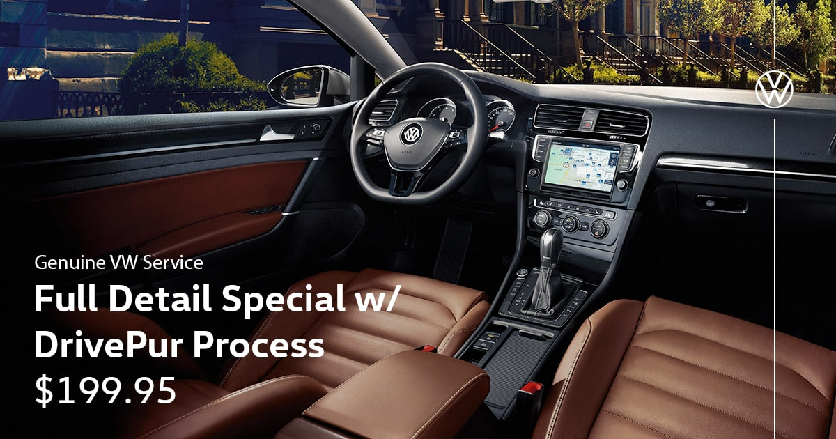 Volkswagen Full Detail Special w/ DrivePur Process Service Special