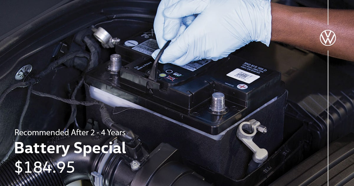 Volkswagen Battery Special Service