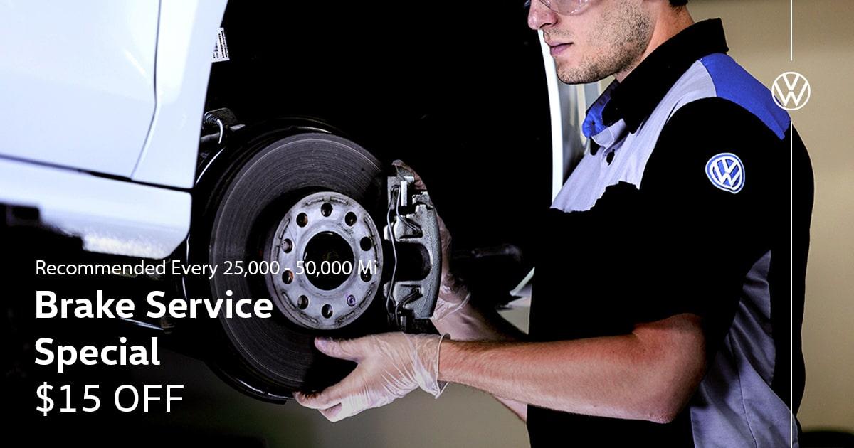 Volkswagen Brake Service Special Service