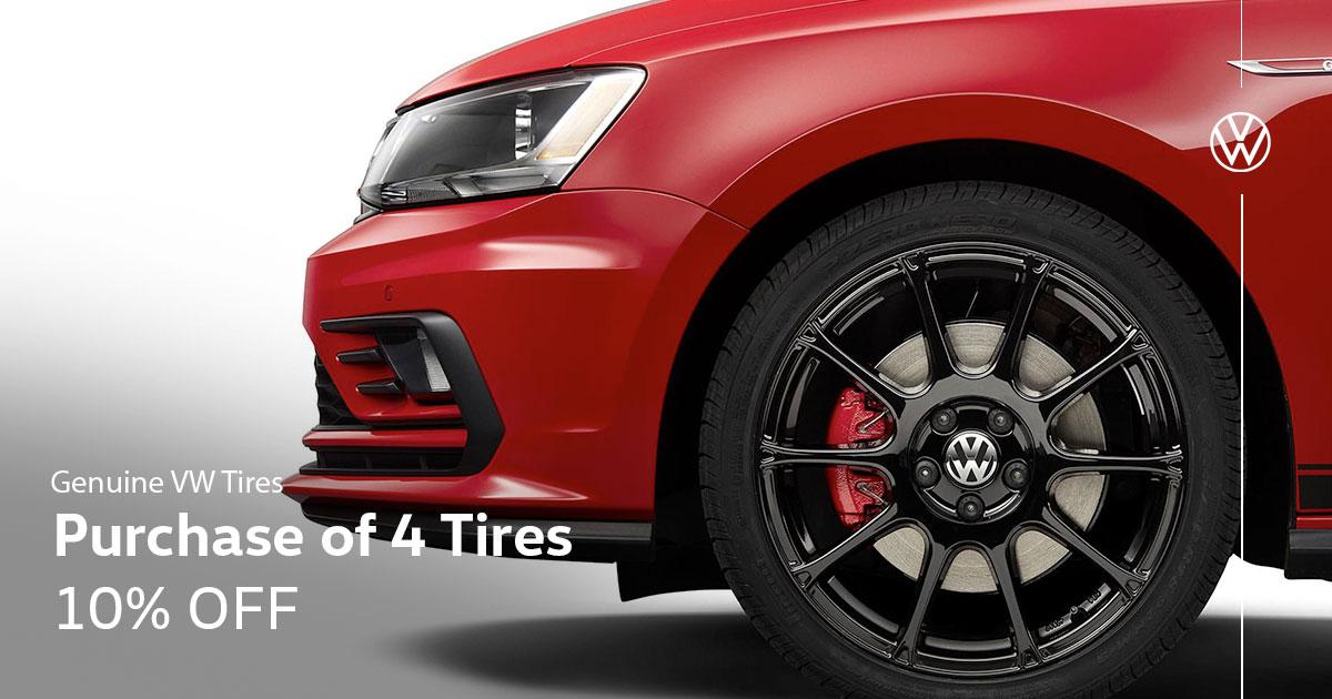 Volkswagen Tire Special Coupon