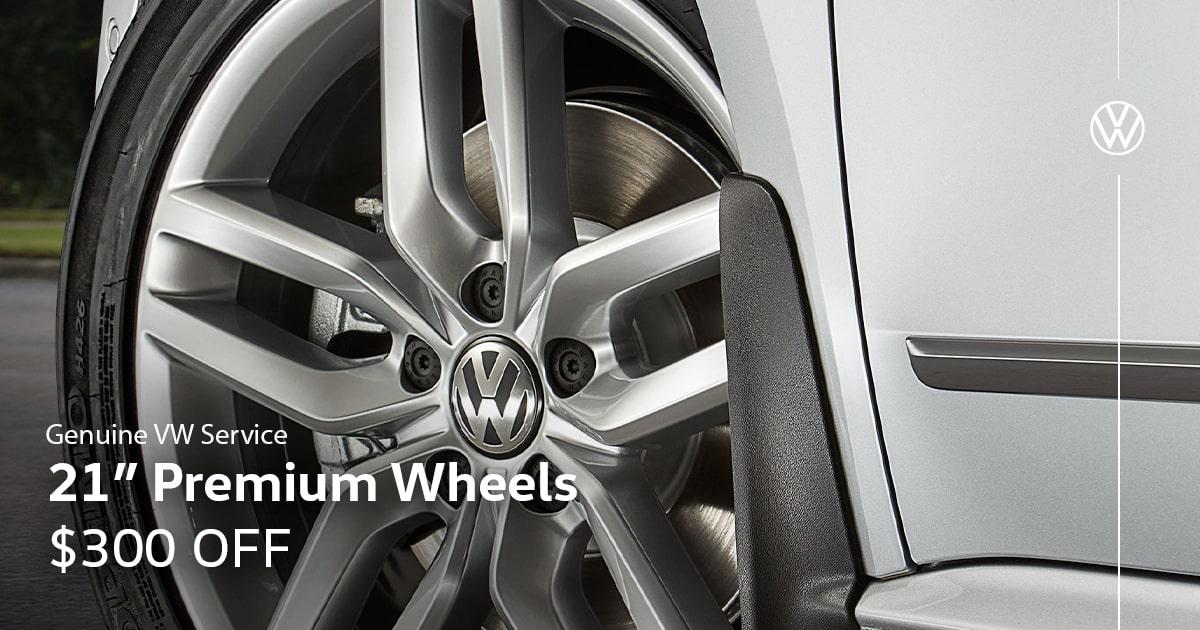 Volkswagen Premium Wheels Service Special Coupon