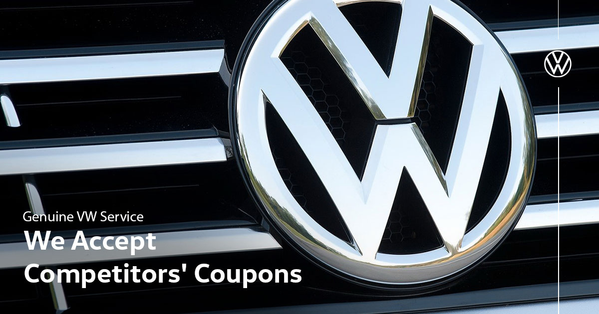 Volkswagen Competitors' Coupons Service Special Coupon