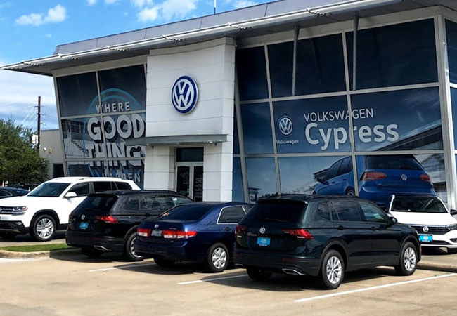 VW Cypress Dealership