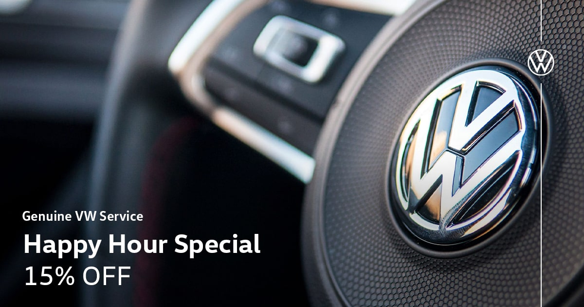 Volkswagen Happy Hour Special Coupon