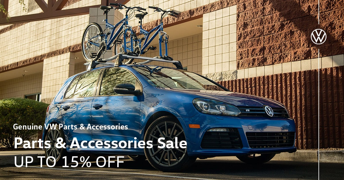 Volkswagen Parts & Accessories Sale Special Coupon