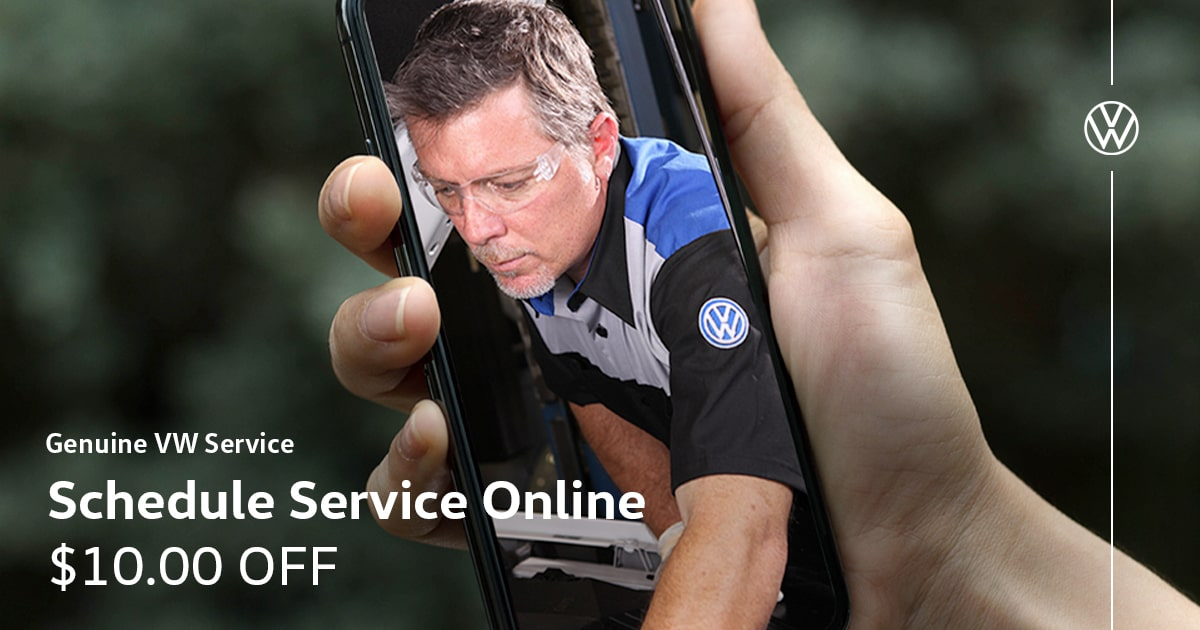 Volkswagen Schedule Service Online Special Coupon
