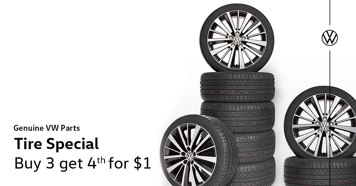 Volkswagen Tire Service Special Coupon