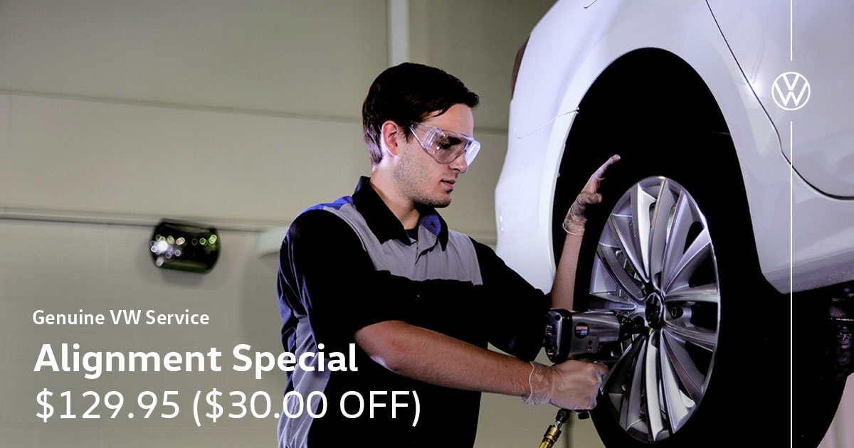 Volkswagen Alignment Service Special Coupon