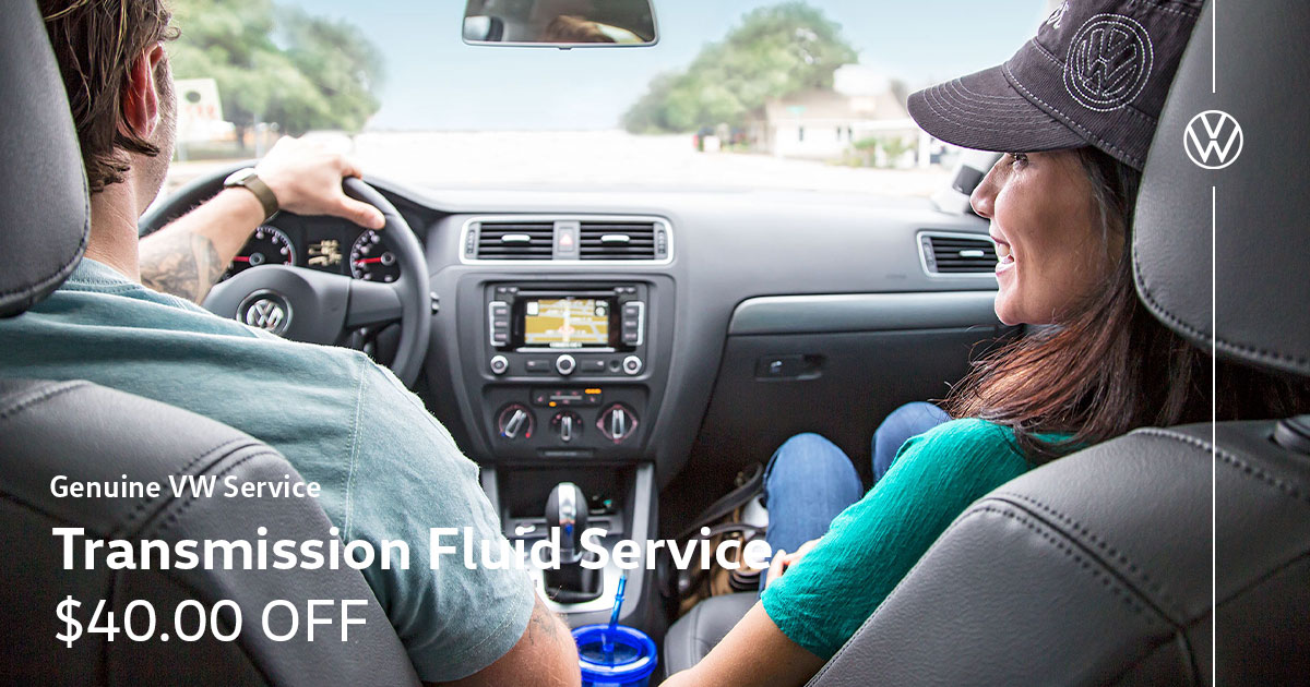 Volkswagen Transmission Fluid Service Special Coupon
