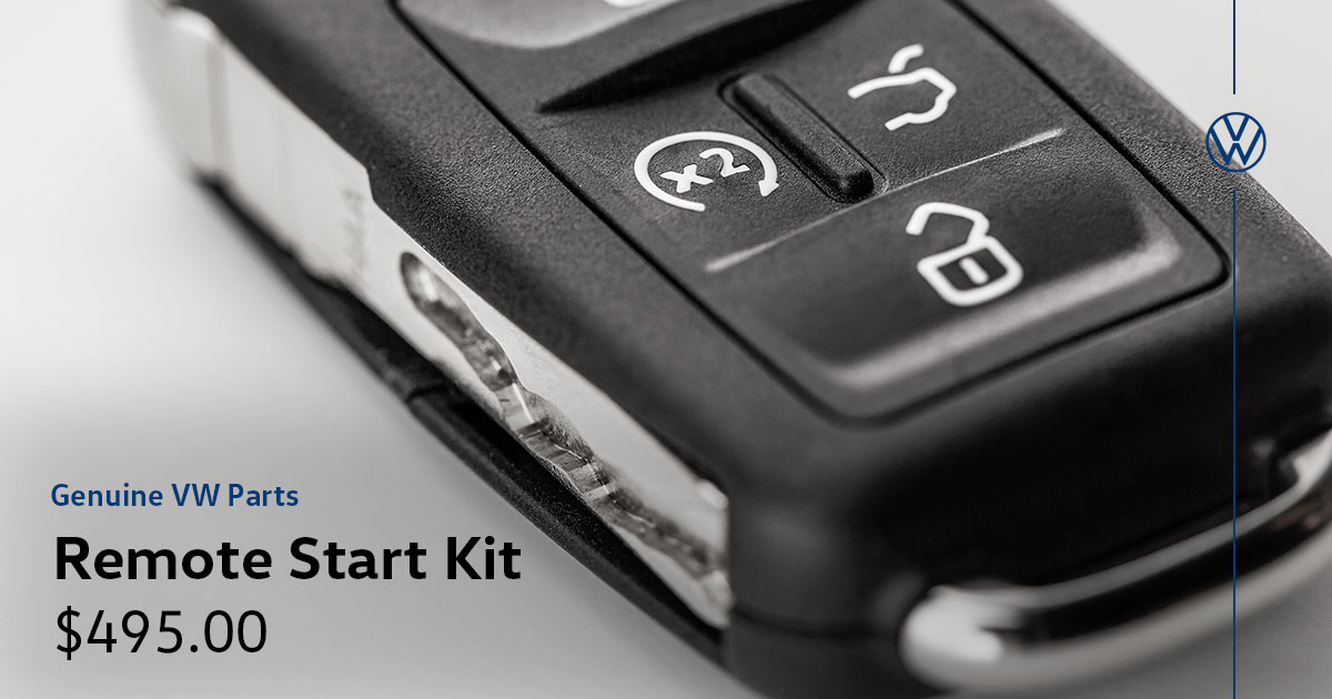 Volkswagen Remote Start Kit Special Coupon