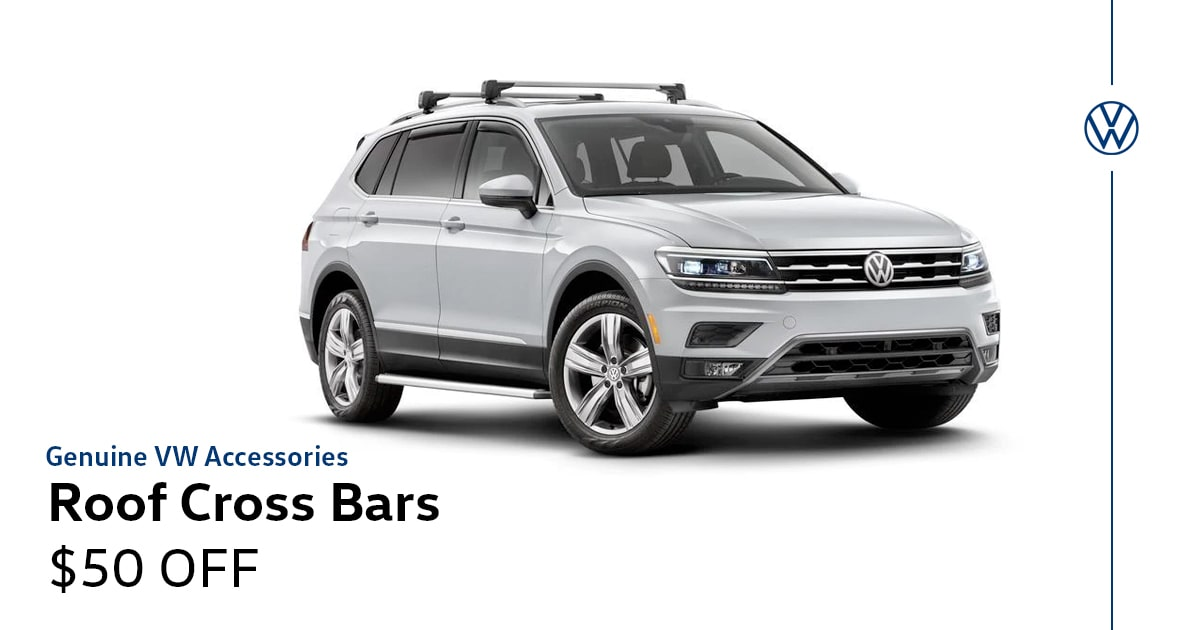 Volkswagen Roof Cross Bars Special Coupon
