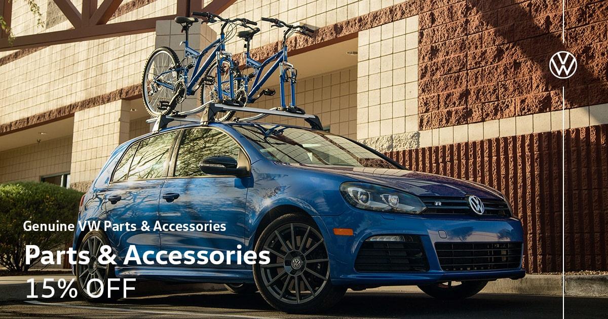Volkswagen Parts & Accessories Sale Special Coupon