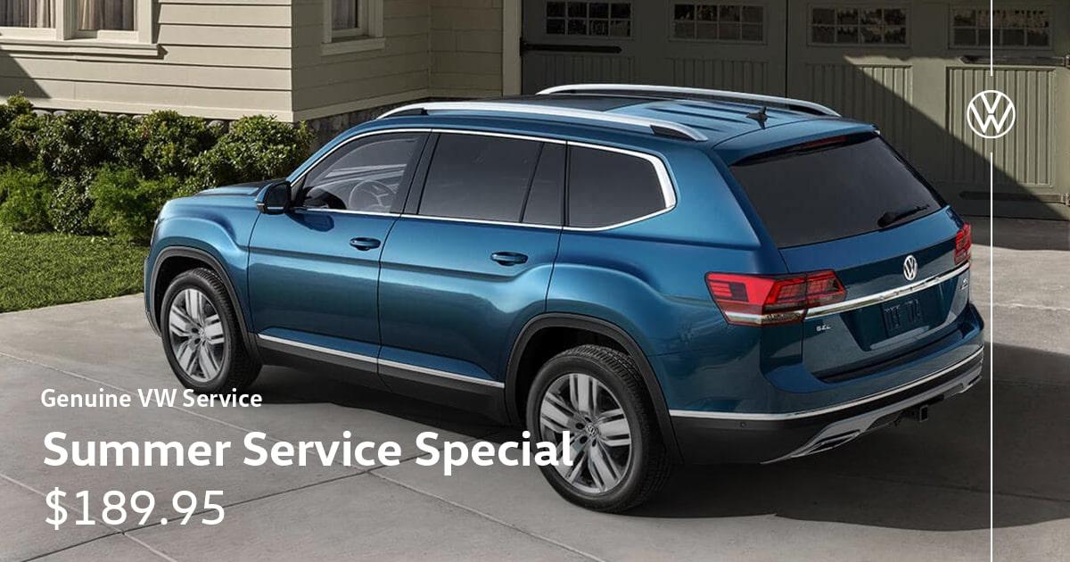 Volkswagen Summer Service Special Coupon