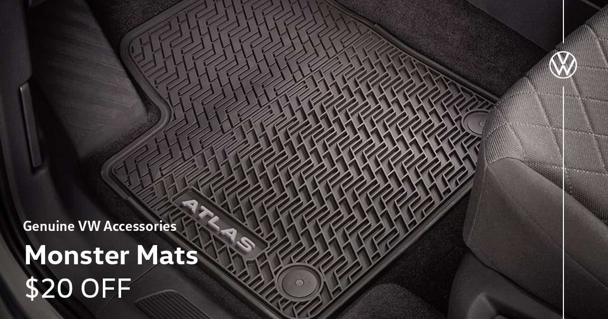 Volkswagen Monster Mats Special Coupon