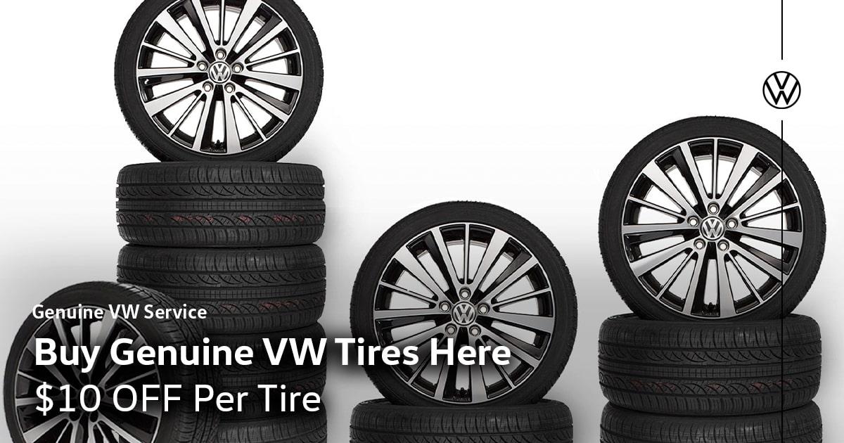 Volkswagen Genuine Tires Service Special Coupon