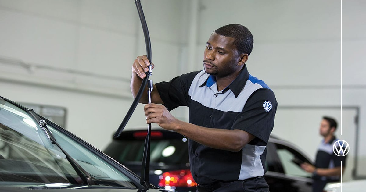 Volkswagen Windshield Wiper Replacement Service Special Coupon