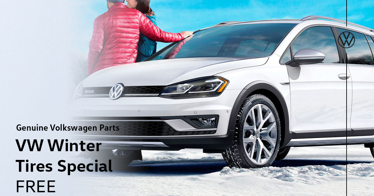 Volkswagen Winter Tires Special Coupon