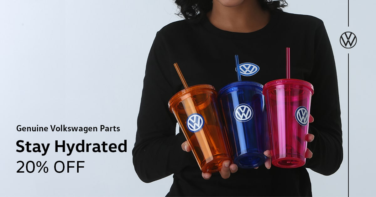 Volkswagen Stay Hydrated Special Coupon