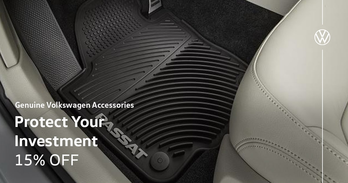 Volkswagen Protect Your Investment Accessory Special Coupon