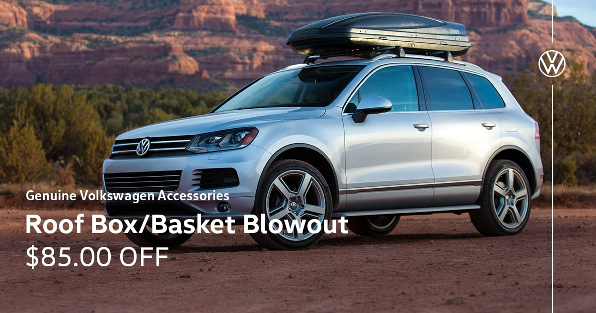 Volkswagen Roof Box/Basket Blowout Special Coupon