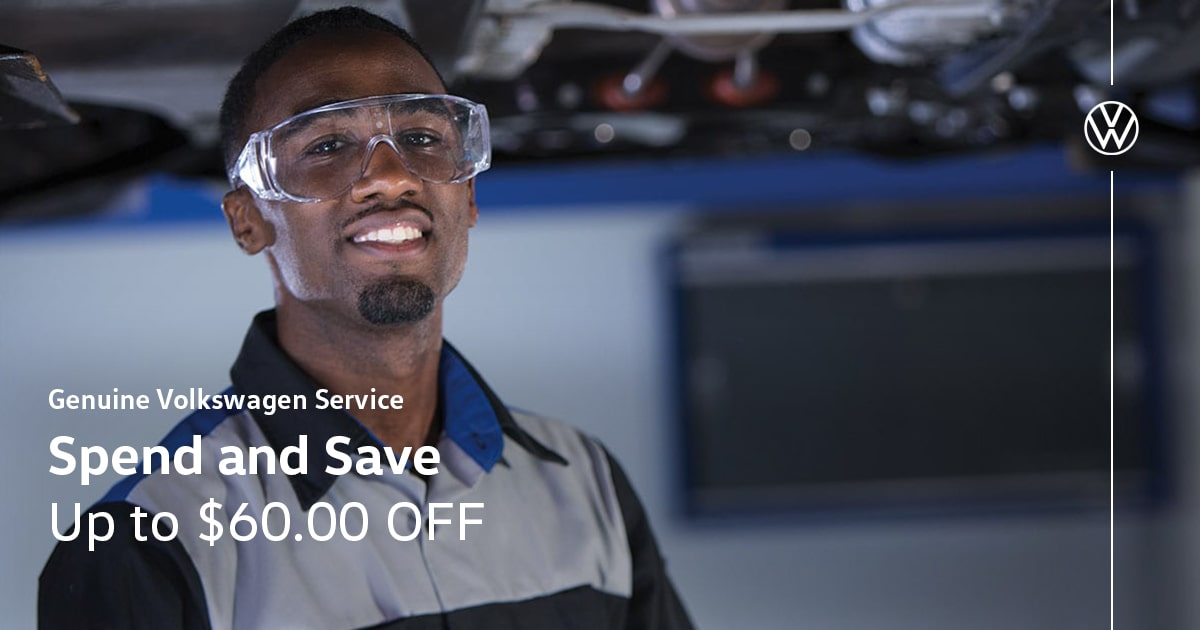 Volkswagen Spend and Save Special Coupon